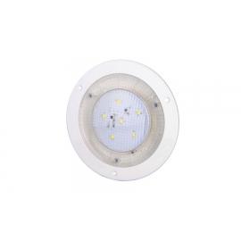 LAMPA OŚWIETLENIA WNĘTRZA OKRĄGŁA WPUSZCZANA LED BIAŁA 12-24V