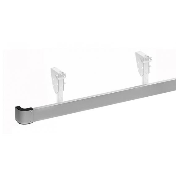 Listwa aluminiowa osłony przeciwrowerowej kpl. 2m