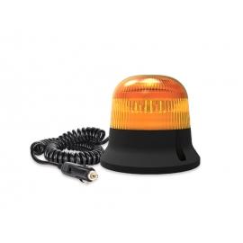 LAMPA MAGNETYCZNA LED MINI, BŁYSK PODWÓJNY 12/24V