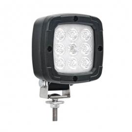 LAMPA ROBOCZA LED 650lm 12/24/36V Z UCHWYTEM PRZEGUBOWYM