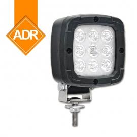 LAMPA ROBOCZA LED 1300lm 12/24/48V Z UCHWYTEM PRZEGUBOWYM
