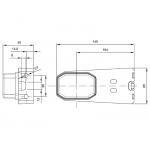 ZACZEP DO ZAMKNIĘCIA EB11-003, EB11-005, EB11-008, EB11-022